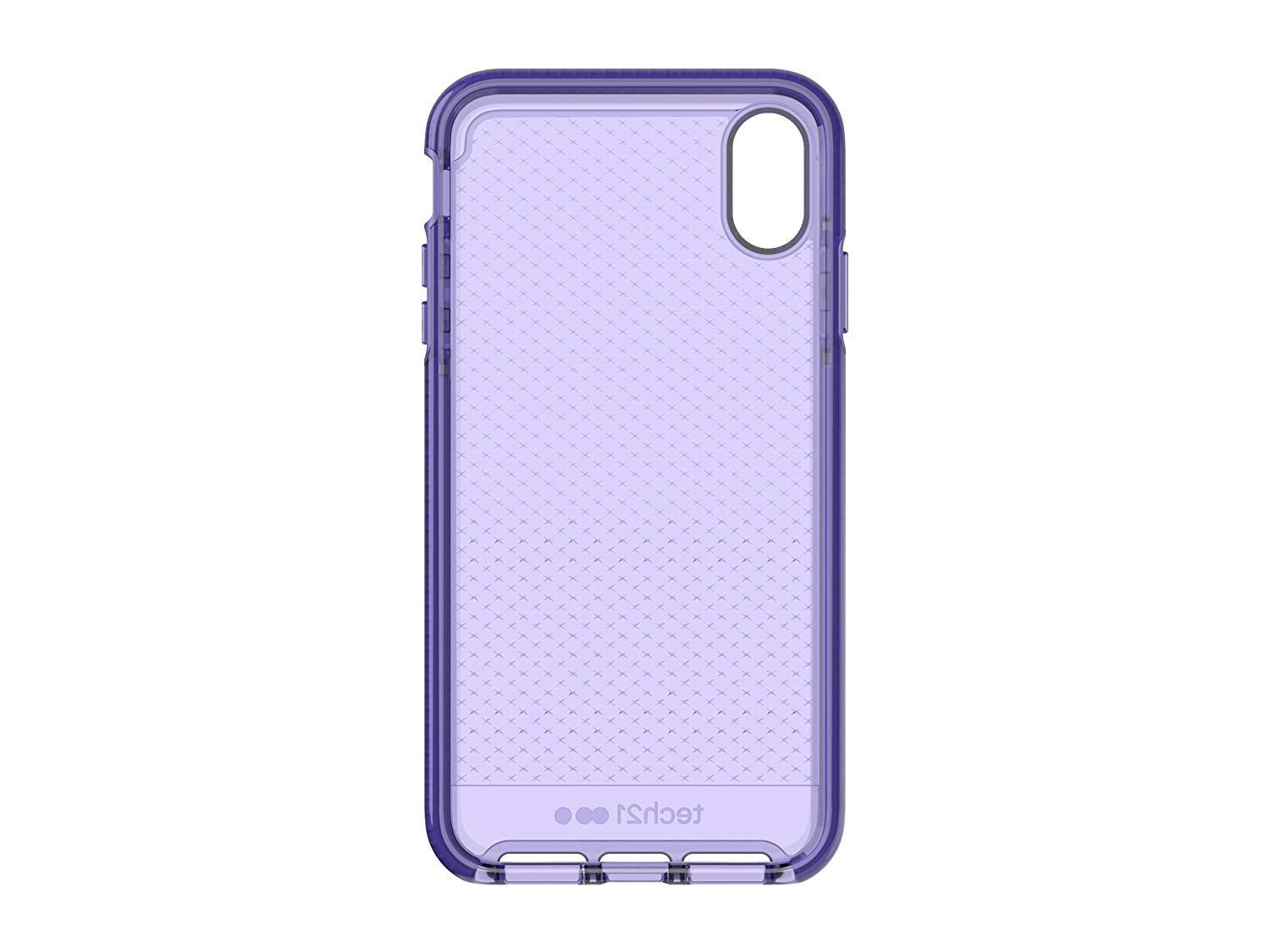 detailed look 3c50d 82c32 Tech21 Evo Check Case for iPhone X/Xs (Ultra Violet ) | B493